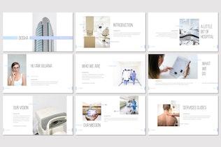 Миниатюра для Bosha - Медицинский Шаблон Powerpoint