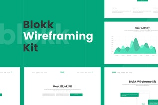Thumbnail for Blokk Wireframe Kit