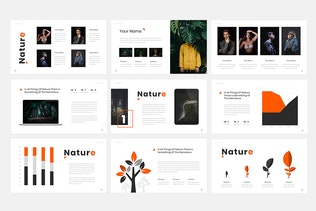 Thumbnail for Foress - Nature Powerpoint Presentation Template