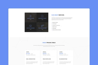 Thumbnail for Swan Lake - CMS Unbounce Template