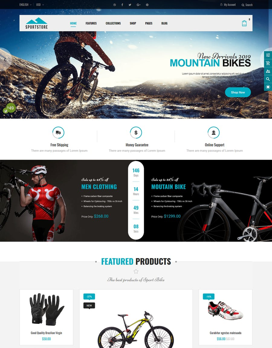 SportStore - Multipurpose Sections Shopify Theme - product preview 5