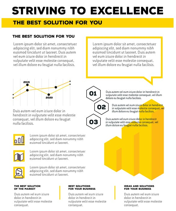 Collection of business infographic templates - product preview 1