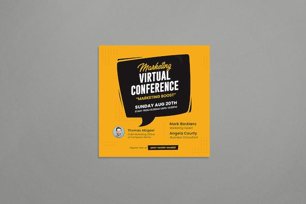 Virtual Conference - product preview 3