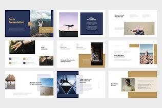Thumbnail for Beria : Yoga Studio Google Slides