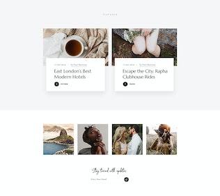 Thumbnail for Marcell - Personal Blog & Magazine WordPress Theme