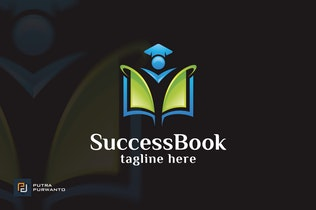 Thumbnail for Success Book - Logo Template