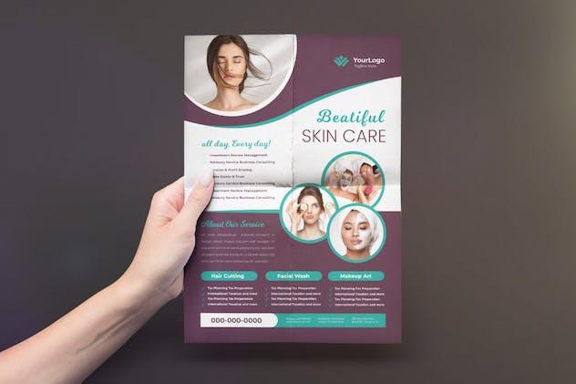 Spa / Skin Care flyer