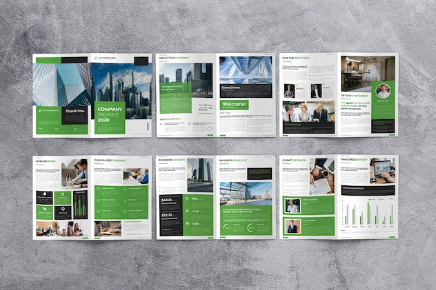 Creative Agency Company Profile - product preview 3