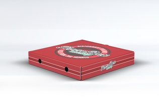 Thumbnail for Pizza Box Mock-Up