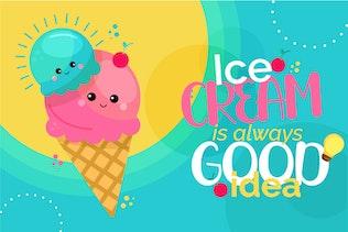 Thumbnail for Kellang Rika | Cute Sans Font