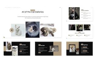 Thumbnail for Good Cat- Powerpoint Template
