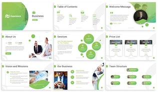 Thumbnail for Experience - Business Powerpoint Template