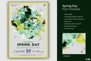 Thumbnail for Spring Day Flyer Template