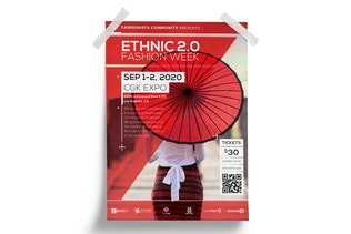 Thumbnail for Ethnic : Fashion Event Poster
