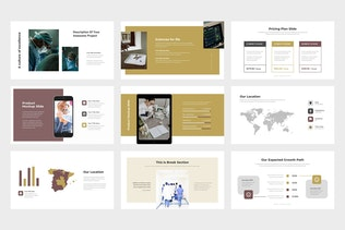 Uqora : Healthcare Proposal Google Slides