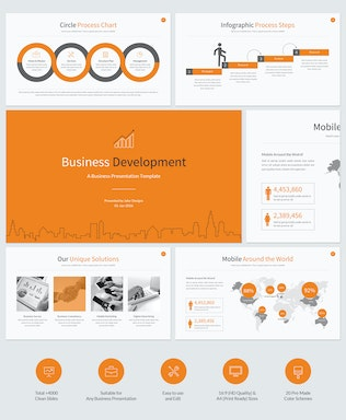 Thumbnail for Business Development Google Slides Template