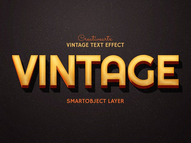 Vintage Retro Text Effects - product preview 4
