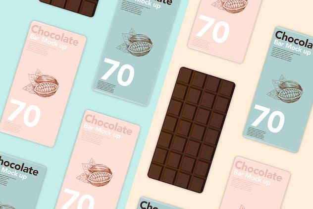 Chocolate Scenes Template Mock Up