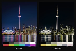 Thumbnail for 50 Urban Black Lightroom Presets and LUTs