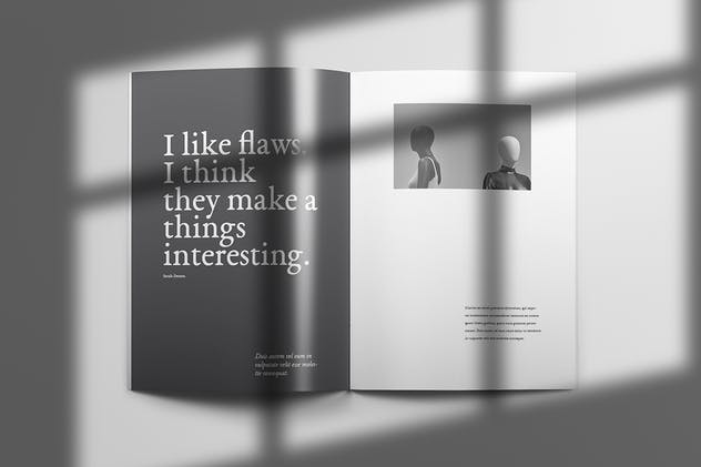 Yeager - Brochure Template Indesign - product preview 4