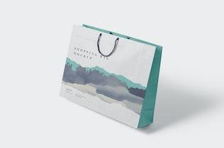 Thumbnail für 5 ansprechende Einkaufstasche Mock-ups