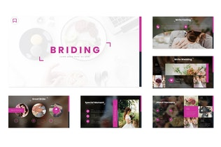 Thumbnail for Briding - Google Slides Template