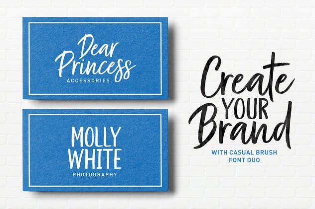 Kind Heart Font Duo - product preview 12