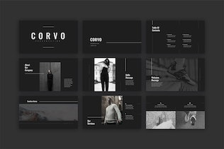 Thumbnail for Corvo PowerPoint Template