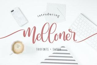 Thumbnail for Melloner Fonts