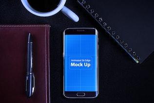 Thumbnail for Animated S6 Edge MockUp V.2