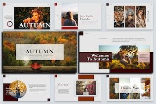 Thumbnail for Autumn Unique - Beautiful Creative Powerpoint