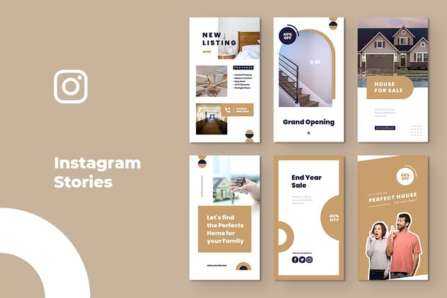Property & Real Estate Instagram Stories - product preview 2