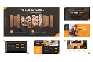 Thumbnail for Good Cakes - Keynote Template