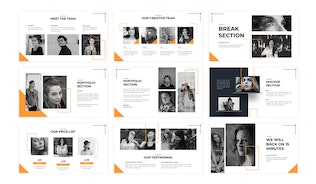 Thumbnail for Fortapeople - Business Keynote Template