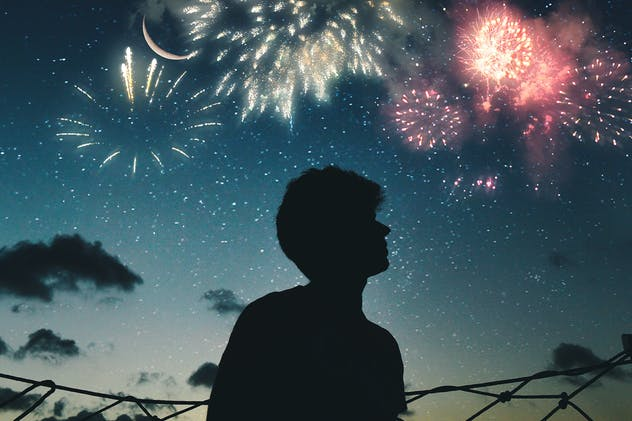 100 Firework Overlays - product preview 3