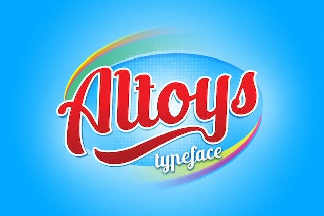 Altoys typeface - product preview 8