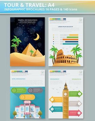 Миниатюра для Дизайн Инфографика тура и путешествия
