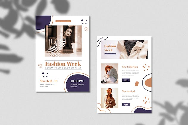 Fashion Week Flyer - product preview 3