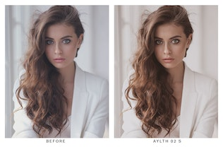 Thumbnail for 20 Cream Lightroom Presets and LUTs