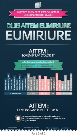 Thumbnail for Modern Editable Infographics Template