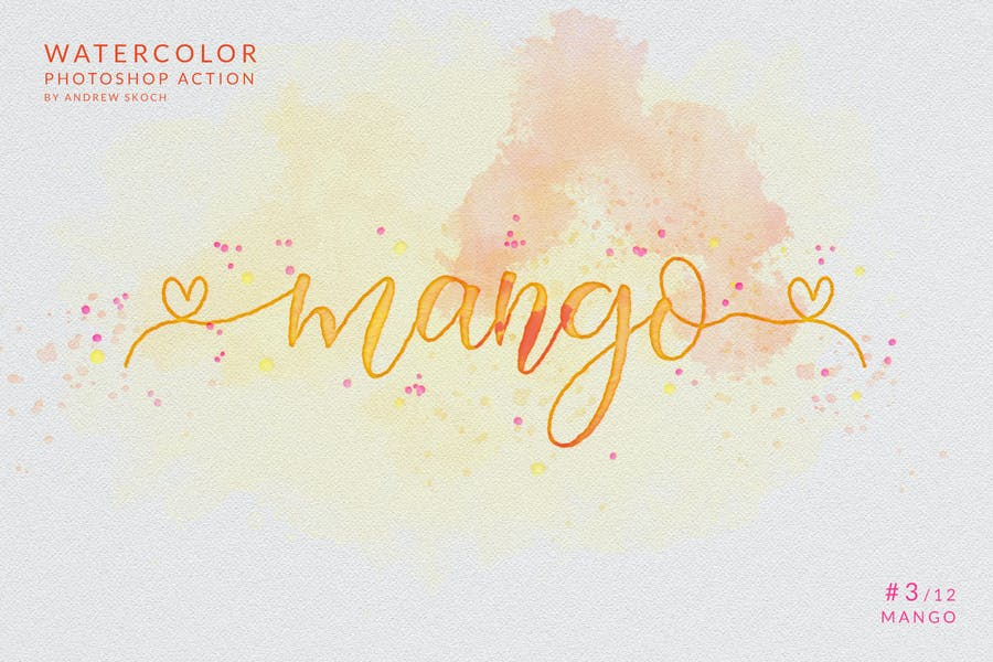 Watercolor Painting - Photoshop Action - product preview 6