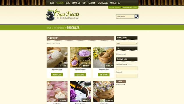 Spa Treats  - Yoga and salon Shopify Theme - product preview 7