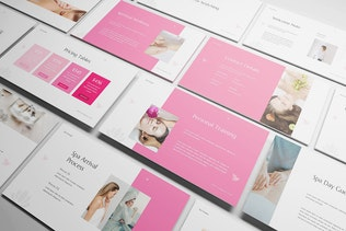 Thumbnail for Luxury Spa Keynote Template