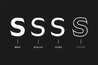 Thumbnail for Daecca Sans Serif Font Family