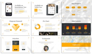 Thumbnail for Stately - Jewelry Keynote Template