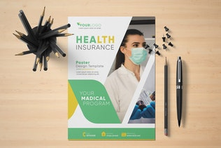 Thumbnail for Health Poster Template