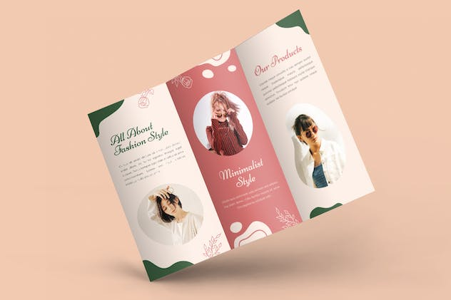 Fashion Catalogue 2021 Trifold Brochure - product preview 3