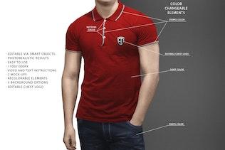 Thumbnail for Polo Shirt Mock-Up