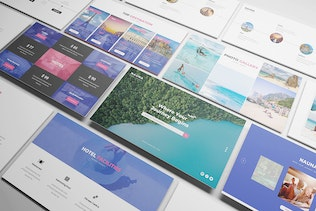 Thumbnail for Nauna - Travel Agency Powerpoint Template