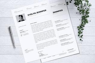 Minimalist CV Resume Vol. 13